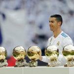 Cristiano Ronaldo ofreció su Quinto Balón de Oro al Santiago Bernabéu