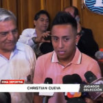 Christian Cueva recibe las llaves de la ciudad de Trujillo