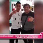 Nacional: Christian Cueva y 'Toño' Centella sorprenden a todos al cantar juntos