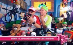 Nacional: Damian y el Toyo le juegan broma a Karla Tarazona