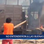 Iquitos: Policía desalojó a a varios  invasores de terreno