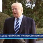EE.UU: Se retira de pacto mundial sobre migraciones