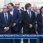 España: Independentistas continuarán en prisión