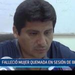 Chiclayo: Falleció mujer quemada en sesión de brujeria