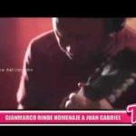 Nacional: Gian Marco rinde homenaje a Juan Gabriel