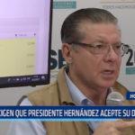 Honduras: Exigen que presidente Hernández acepte su derrota