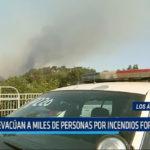 Los Ángeles: Evacúan a miles de personas por incendios forestales