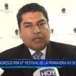 Trujillo: Ingresos por 67° Festival de la primavera no se conocen