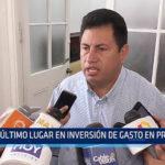 Trujillo: Último lugar en inversión de gasto en proyectos