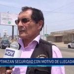 Trujillo: Optimizan seguridad con motivo de llegada del Papa