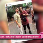 Internacional: Maluma estrena videoclip con Ronaldinho