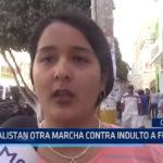 Chiclayo: Alistan otra marcha contra indulto a Fujimori