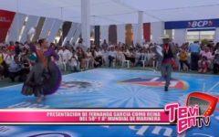Local: Presentación de Fernanda García como Reina del 58º y 8º Mundial de Marinera