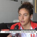 Medallista bolivariana se enfoca en el último nacional del año