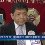 MPT: Pide celeridad en litigio por club Libertad