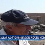Hallan a otro hombre sin vida en Víctor Larco