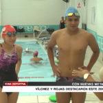 Los nadadores Vílchez y Rojas destacaron este 2017