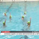 Equipo de la MPT consiguen  22 preseas en nado sincronizado