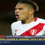 Fifa reduce castigo a Paolo Guerrero y jugará el Mundial 2018