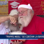 Brasil: Papás Noel se cortan la barba