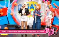 Local: Pégate al Mediodía celebra 14 años con colorida caravana
