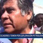 Lambayeque: Pescadores temen por exploración petrolera en el mar