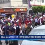 Chiclayo: Realizan marcha contra uso indebido de pirotécnicos