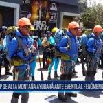 """Chiclayo: PNP de alta montaña ayudará ante eventual fenómeno """"El Niño"""""""