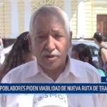 Chiclayo: Pobladores piden viabilidad de nueva ruta de transporte