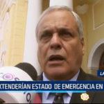 Lambayeque: Extenderían estado de emergencia en Tumán