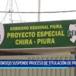 Piura: Consejo suspende proceso de Titulación de Proyecto