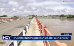 PIURA: Puente independencia listo para enero