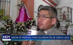 Moche: Se prepara para celebrar día de Santa Lucía