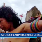 Iquitos: Se crucifican para evitar desalojo