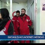 Siria: Inician evacuaciones médicas
