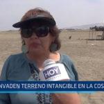 Trujillo: Invaden terreno intangible en la Costanera