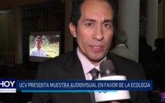 Ucv: Presentan muestra audiovisual en favor de la ecología