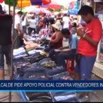 Chiclayo: Alcalde pide apoyo policial contra vendedores informales