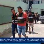 """Chiclayo: Policía desarticula banda """"los anticonas de Cayalti"""""""