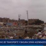 Chiclayo: Temas de transporte y basura serán agendados por CORESEC