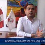Chiclayo: Defensoría pide garantías para caso de Chaparri