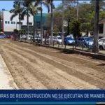 Chiclayo: Obras de reconstrucción no se ejecutan de manera adecuada