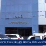 Chiclayo: Buscan disminuir carga procesal en el Ministerio Público