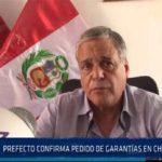 Chiclayo: Prefecto confirma pedido de garantías en Chaparrí