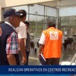 Chiclayo: Realizan operativos en centro recreacionales
