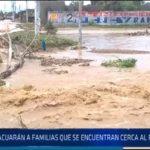 Chiclayo: Evacuaran a familias que se encuentran cerca al río La Leche