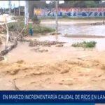 Chiclayo: En marzo incrementaría caudal de ríos en Lambayeque
