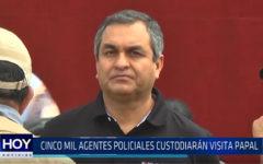 Trujillo: Cinco mil agentes policiales custodiarán visita papal