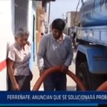 Chiclayo: Ferreñafe: anuncian que se solucionara problema del agua