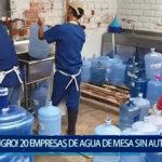 Piura: ¡Peligro! 20 empresas de agua de mesa sin autorización